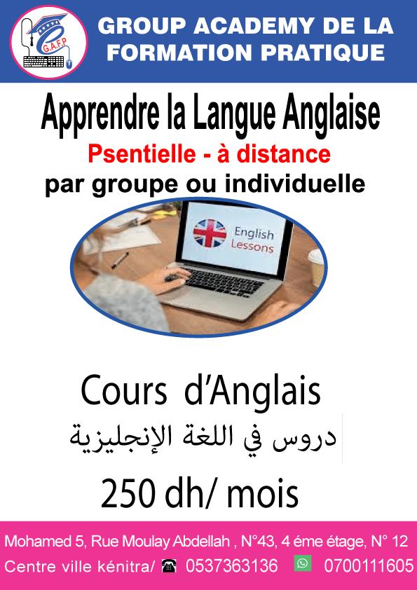 Langue et Communication Anglaise