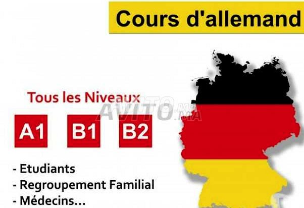 Cours de langue Allemande