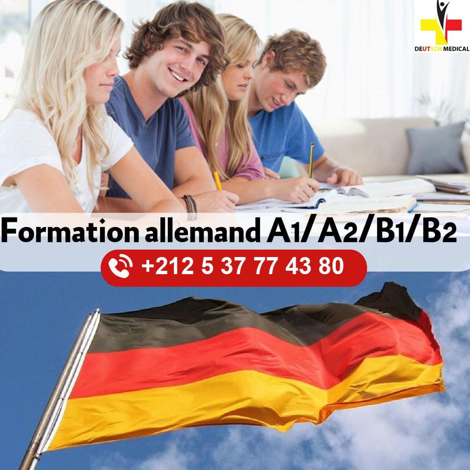 Formation d'allemand médical