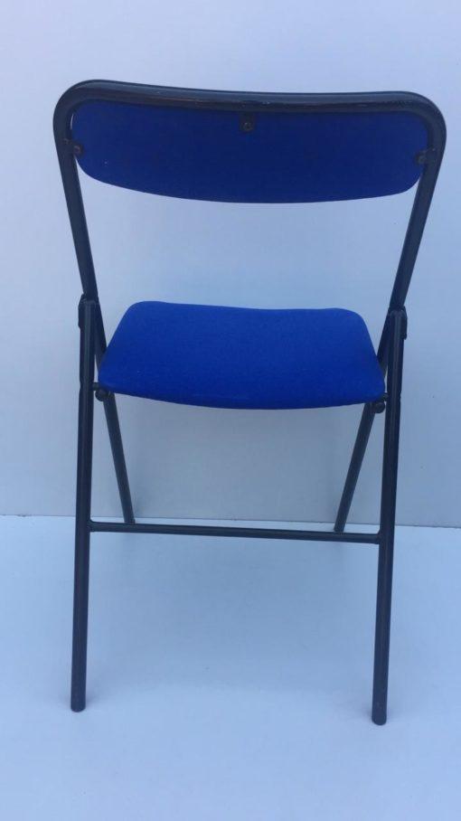 Chaise pliante en tissus Plichaise SOUVIGNET BLEU