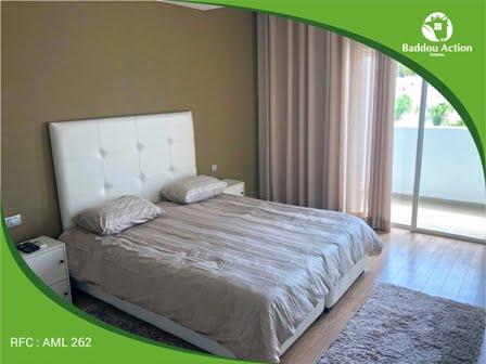 Location d'un appartement meublé au Perstigia RABAT