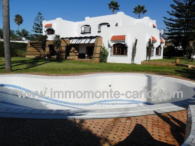 Location Villa avec piscine à Soussi RABAT