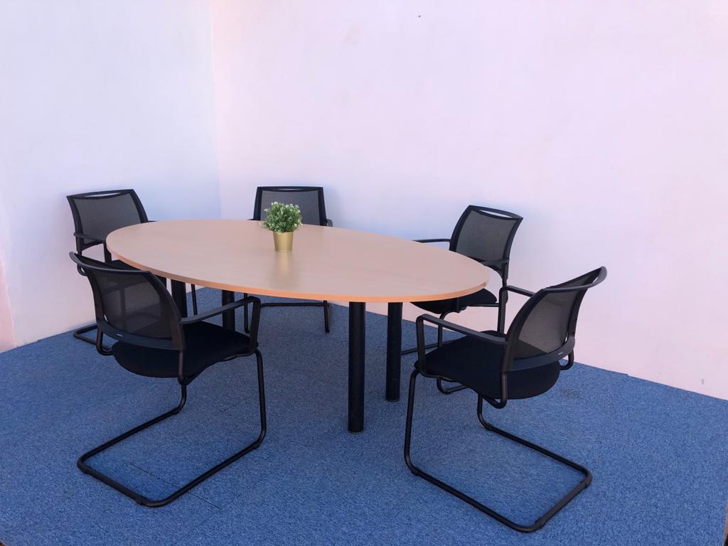 Table de réunion 6 pers