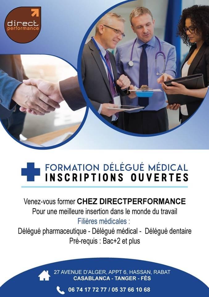 formation délégué médical