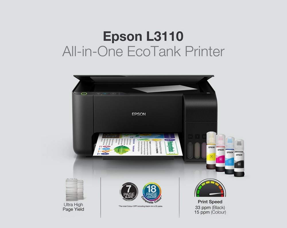 EPSON EcoTank L3110 A4 3en1 à réservoirs
