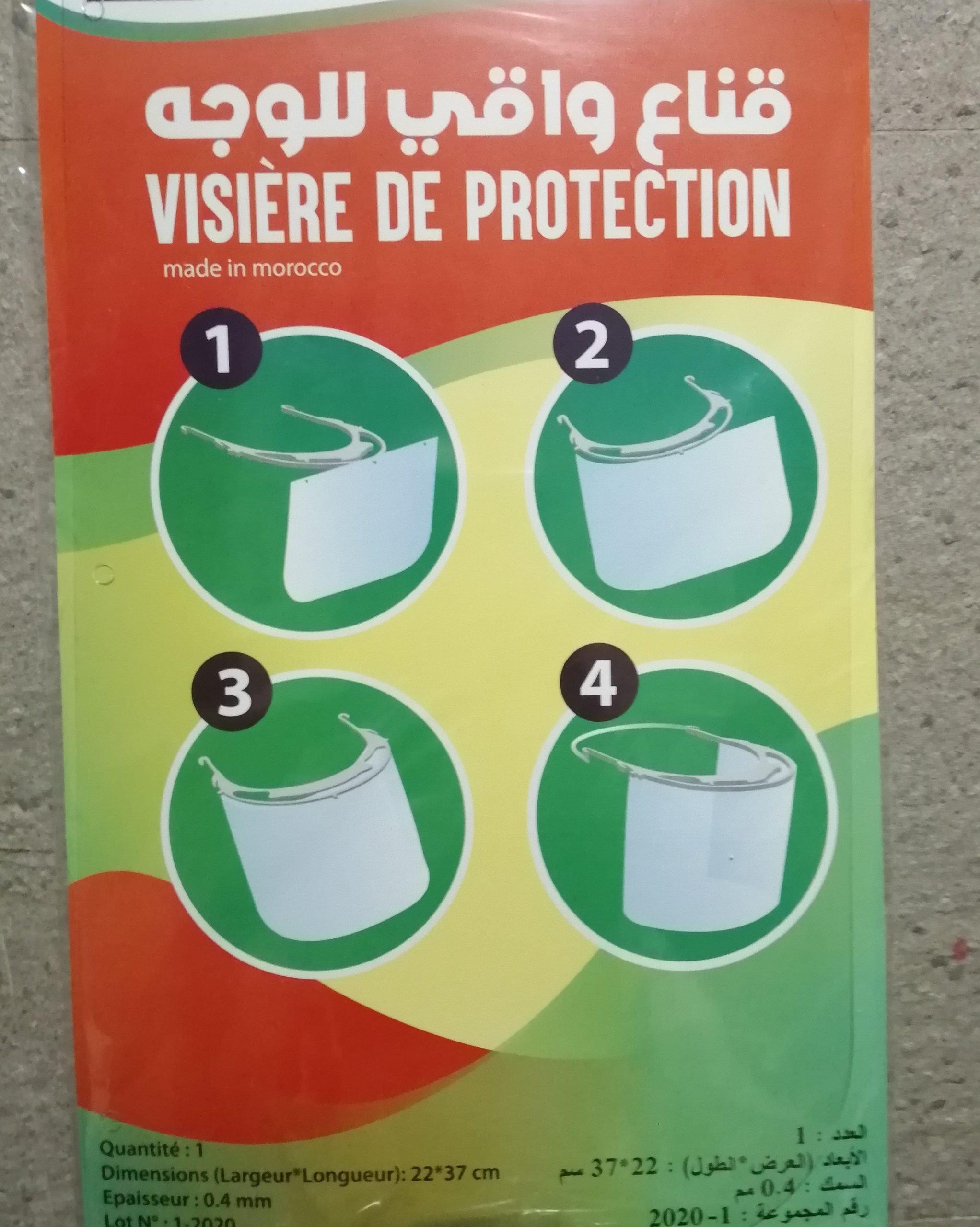 Visières de protection