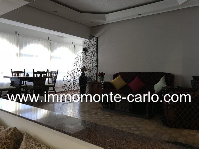 Appartement meublé avec terrasse  à louer à Agdal Rabat
