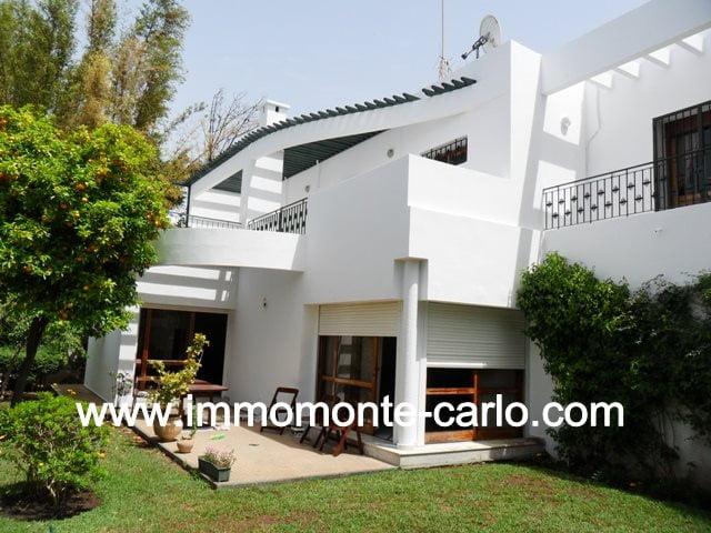 A louer villa  à  Hay Riad / Rabat