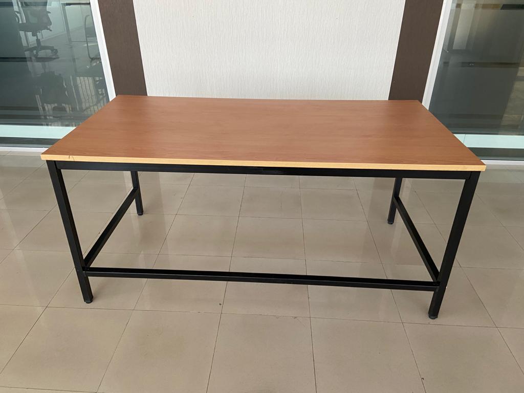 Table de travail bureau droit 160x80cm