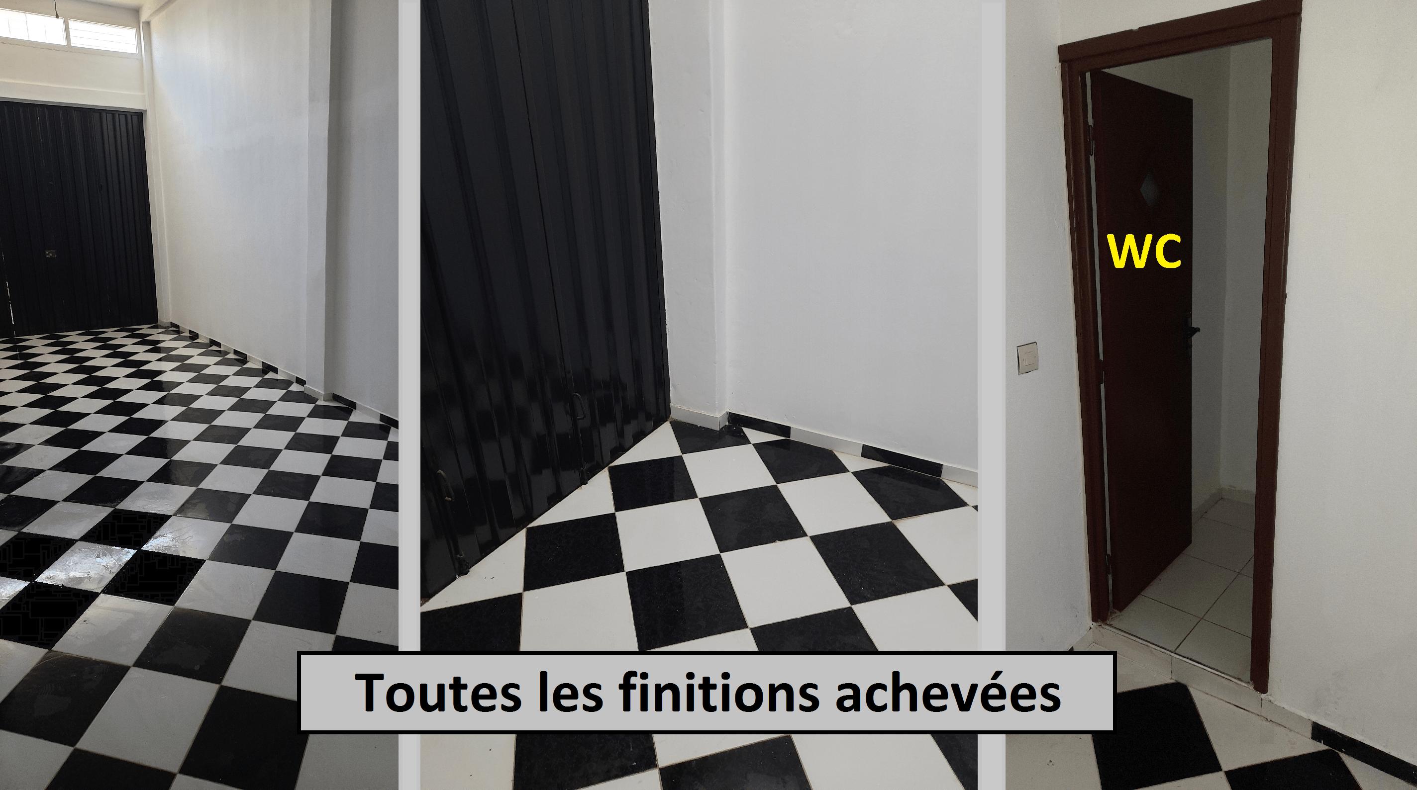 Location local commercial de 101m² à Sidi Taibi KENITRA