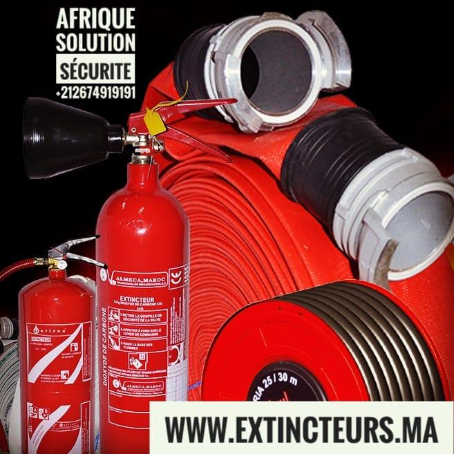 Sécurité incendie Dakhla Sahara Maroc