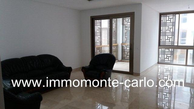 Appartement neuf avec terrasse à la Marina Bab El Baher  Rabat Salé