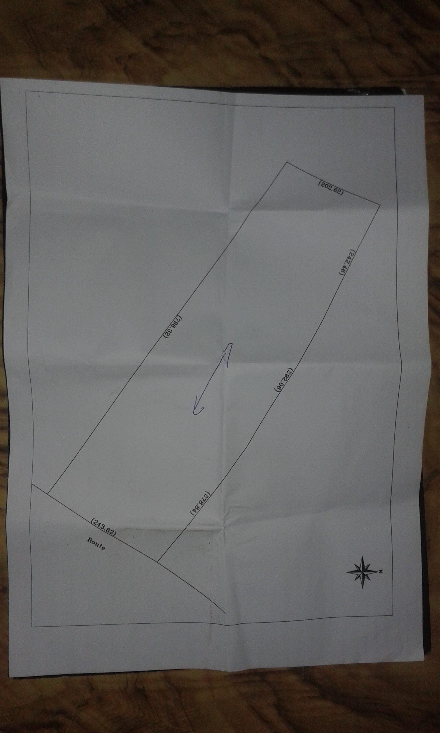 Terrain titré à vendre pour l'agriculture à TIZNIT
