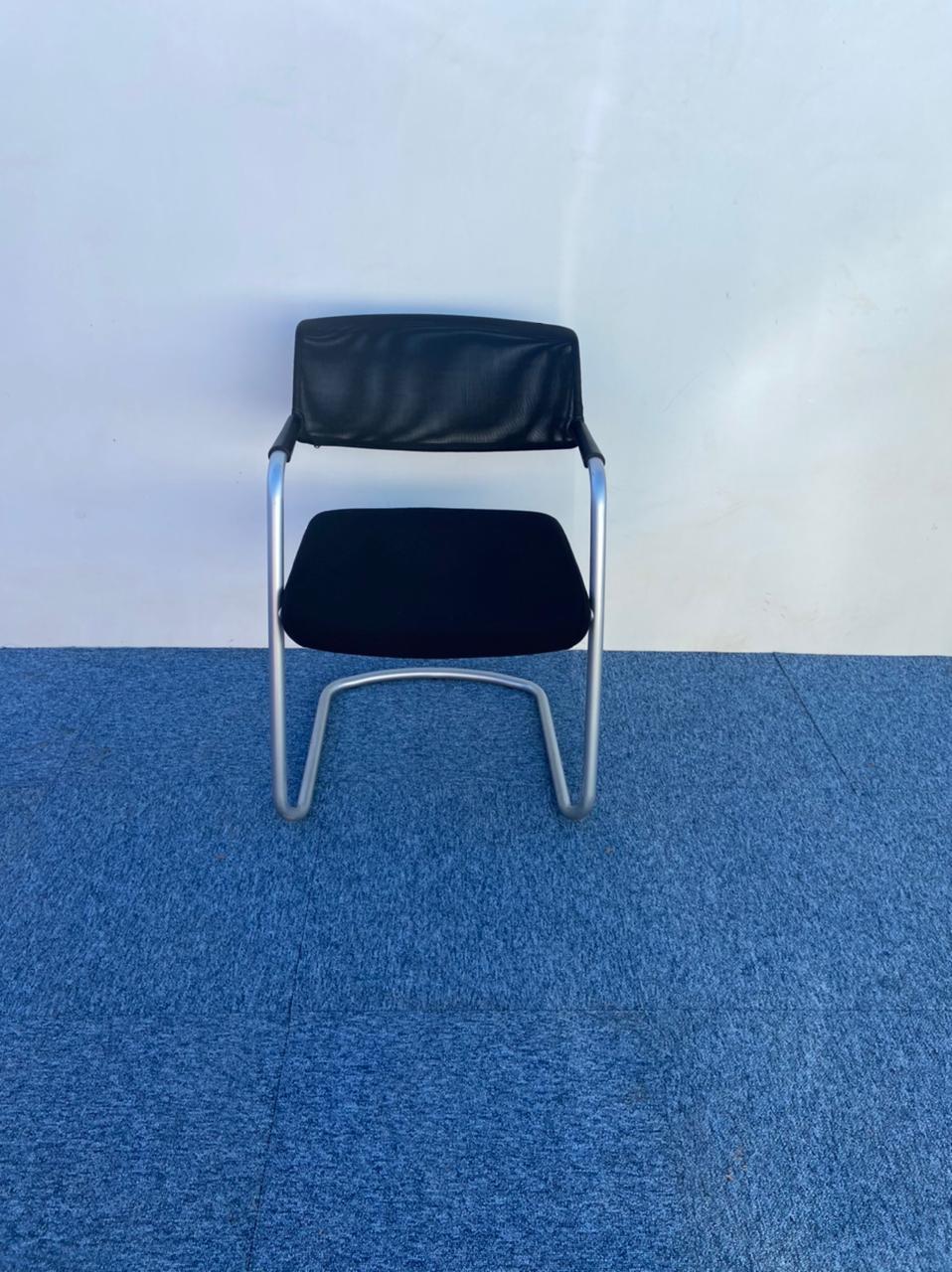 Chaise visiteur luge dossier résille Sitland