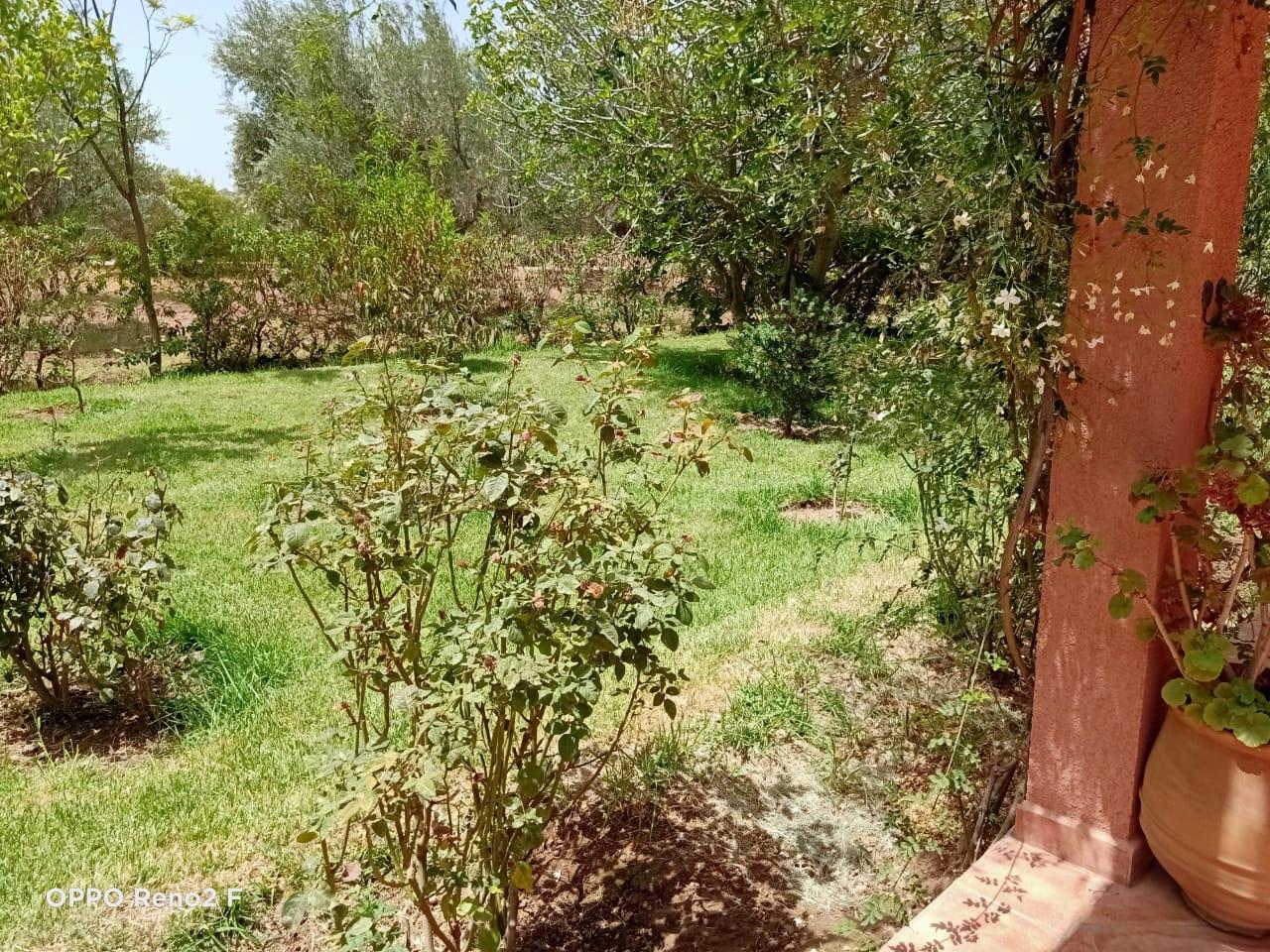 maison en location a la route de l'ourika