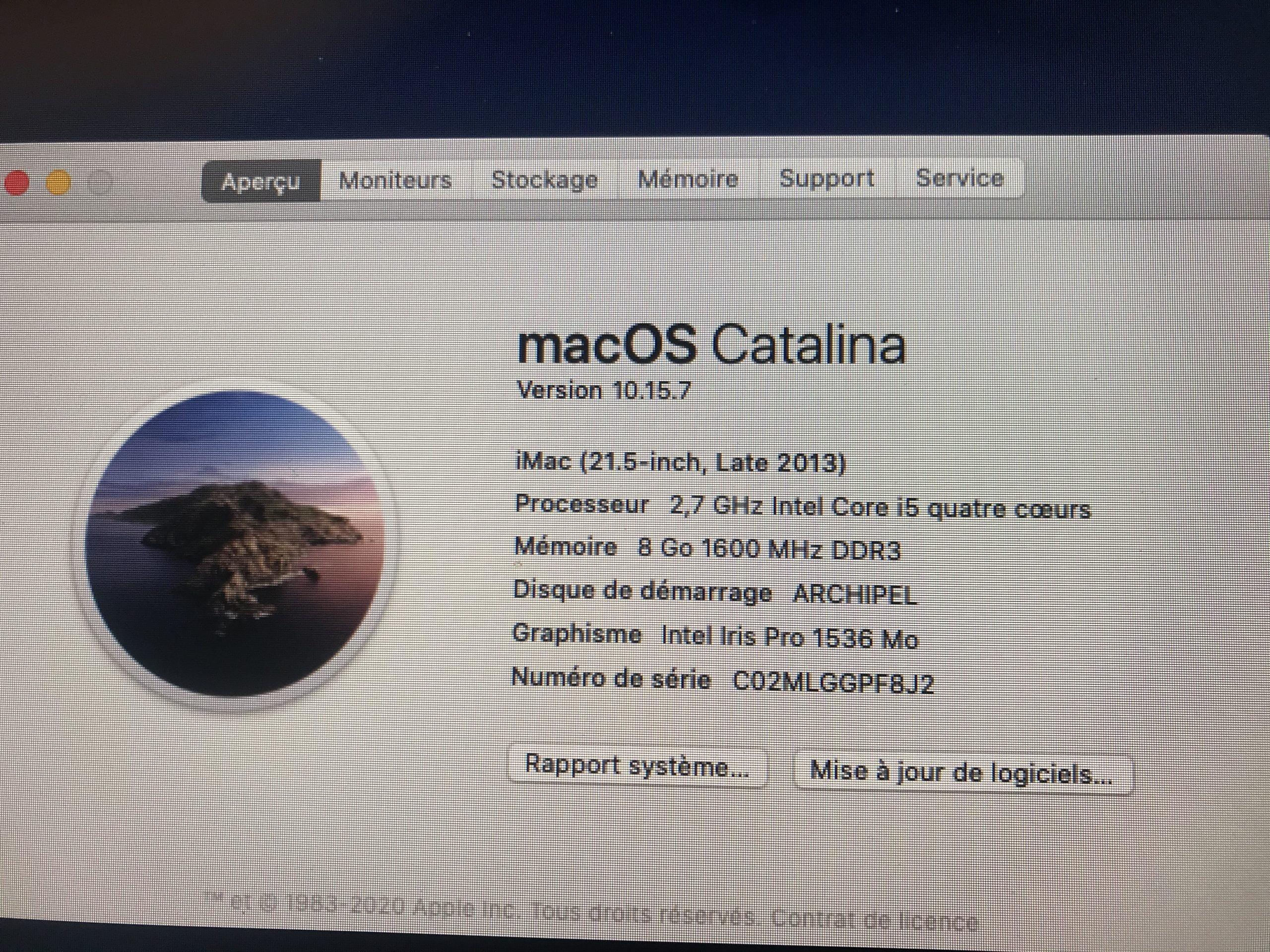 Imac I5 à vendre
