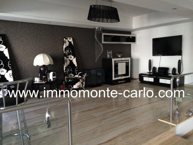 A louer appartement meublé à Agdal Rabat