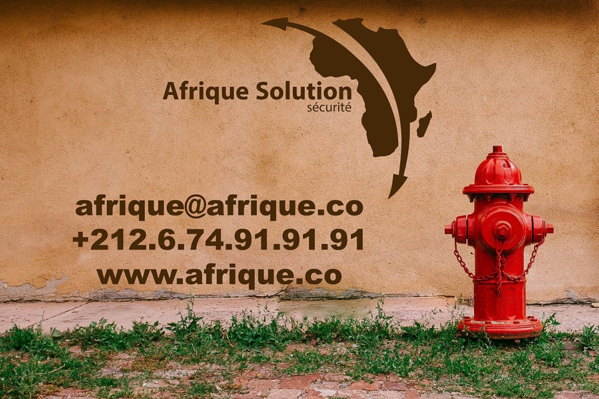 Assilah poteau d'incendie Maroc afrique solution