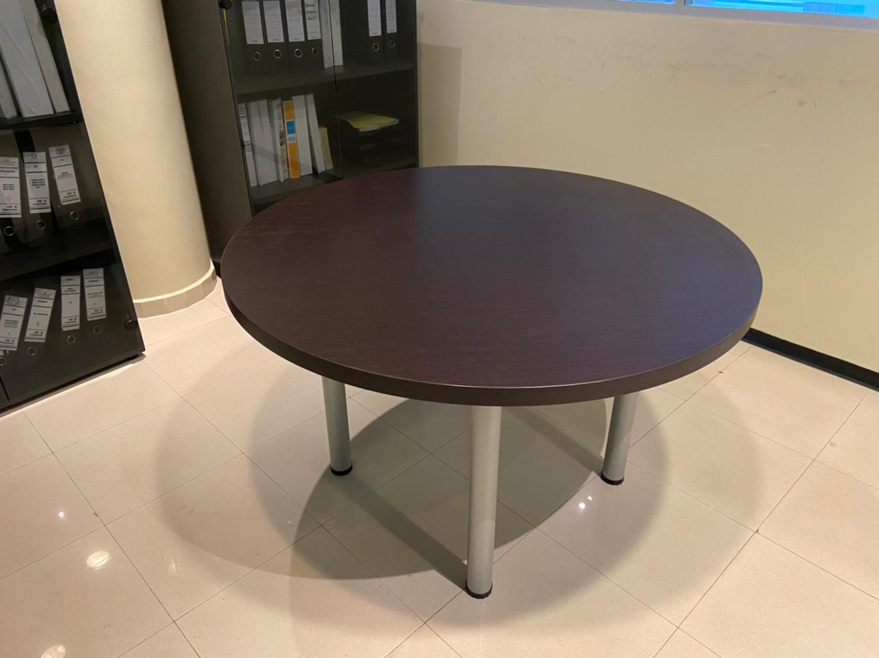 Table ronde Wengé 120cm