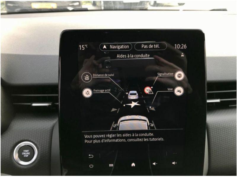 """RENAULT CLIO OCCAZ V BlueDCi 115 BV6 INTENS GPS Easy Link 9.3"""" Caméra JA 17"""""""