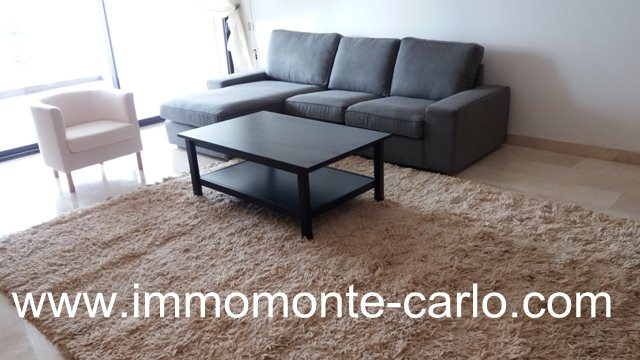 Location appartement meublé avec terrasse à Souissi