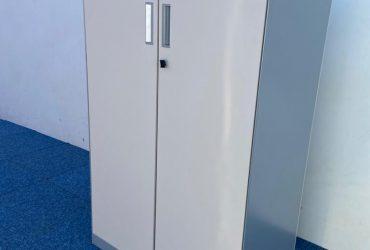 Armoire métallique porte battante H120xL80xP45