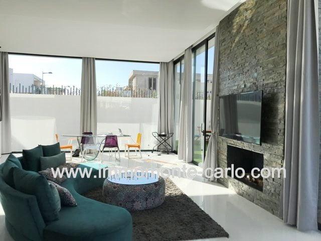Villa neuve moderne avec piscine à louer à Hay Riad Rabat