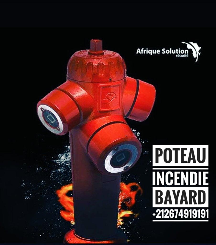 Ifrane poteau d'incendie Maroc afrique solution
