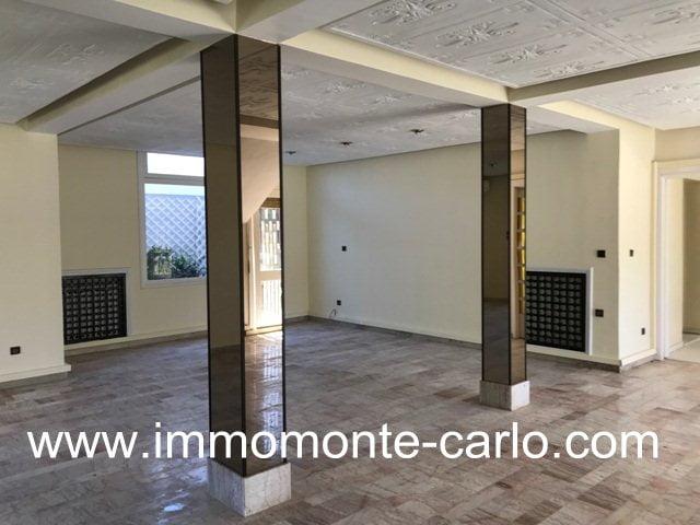 Villa usage bureau à louer à Souissi Rabat
