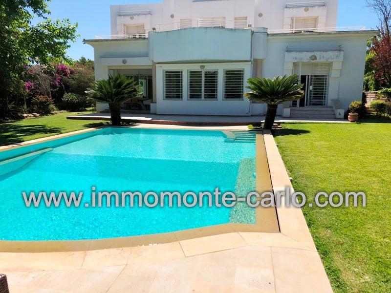 Location Villa  haut standing  de prestige au quartier Soussi RABAT