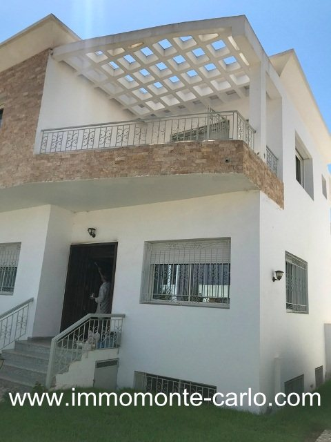 À louer villa neuve Hay Riad Rabat