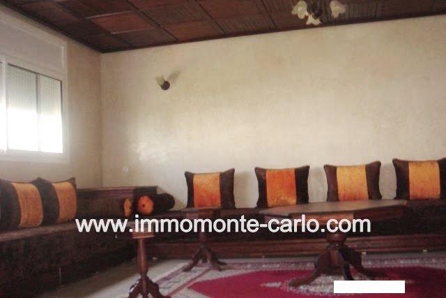 Appartement meublé avec terrasse à louer à Bassatine Al Manzeh