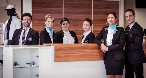 Hôtesse d'accueil bilingue