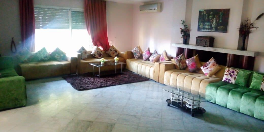 Location journalier d'un d'un villa meublée à hay Riad