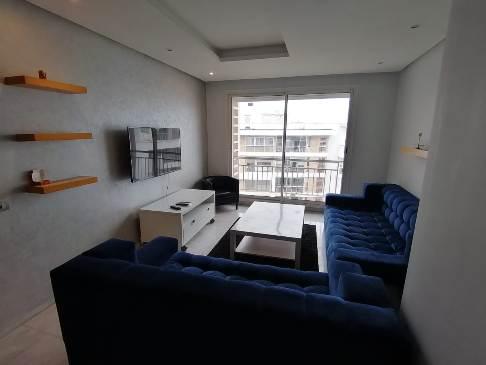Location d'un appartement meublé à Perstigia RABAT