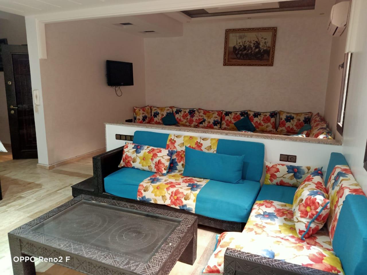 appartement meublé en location en plein centre guéliz