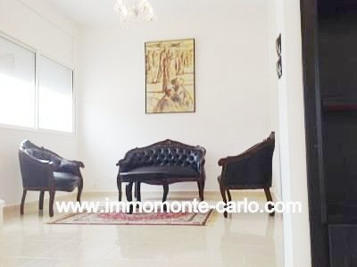 Villa neuve meublée à louer à Hay Riad