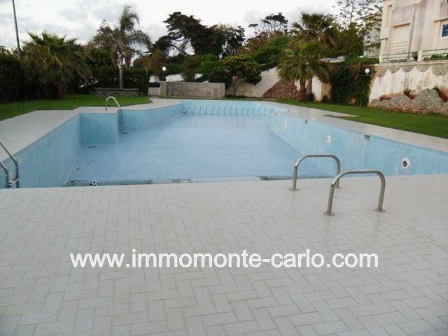 Duplex meublé avec piscine à louer à Harhoura plage Rabat
