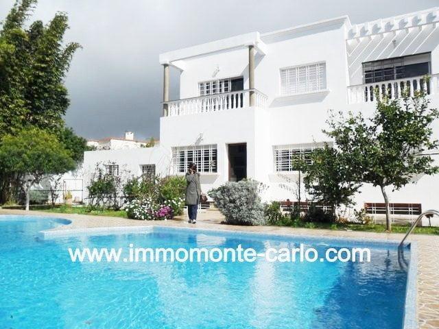 Location villa Rabat avec piscine à Souissi