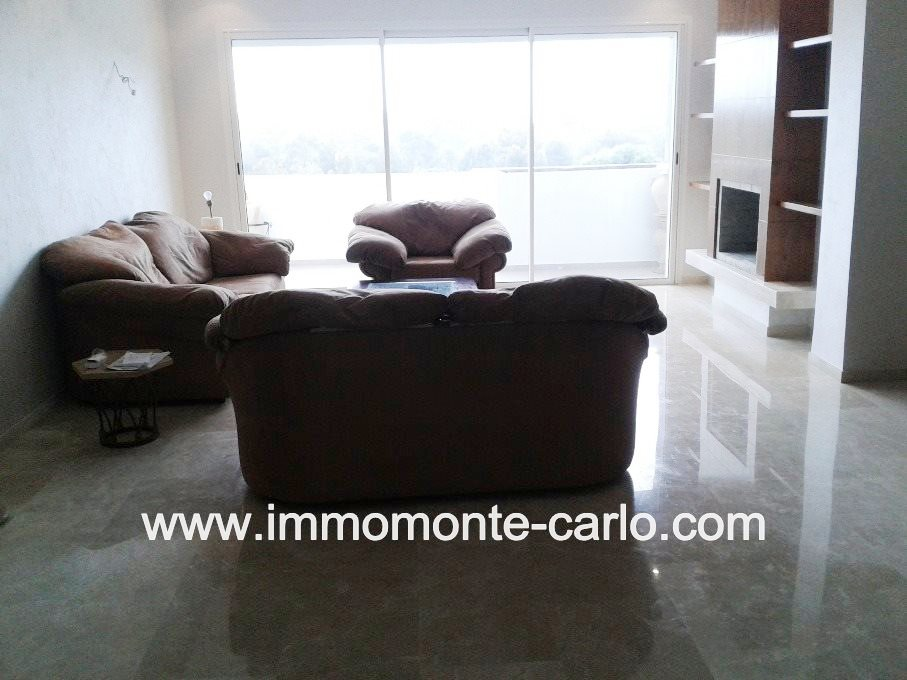 Location Duplex haut standing à Hay Riad Rabat