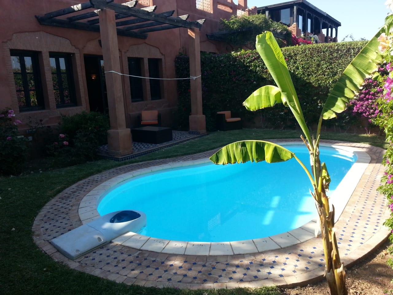 Location journalier d'un d'un villa meublée à Marrakech