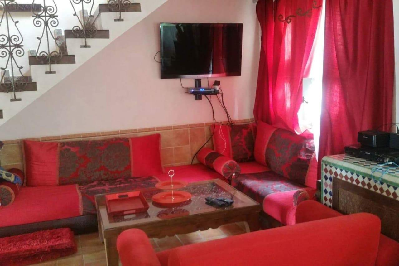 Location journalier d'un d'un villa meublée à Harhourra