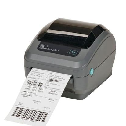 imprimante étiquette zebra GK420T