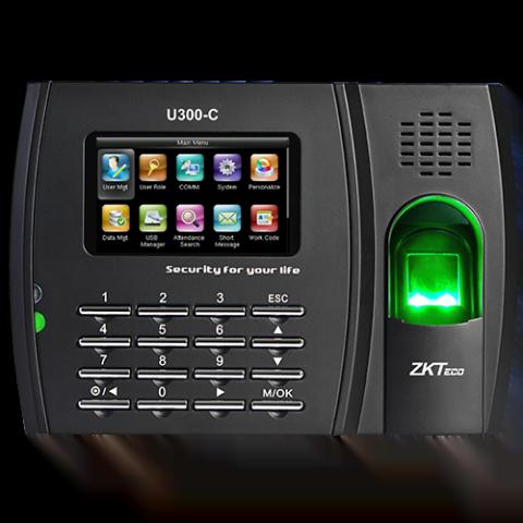 Pointeuse  biométrique d'empreintes digitales U300-C