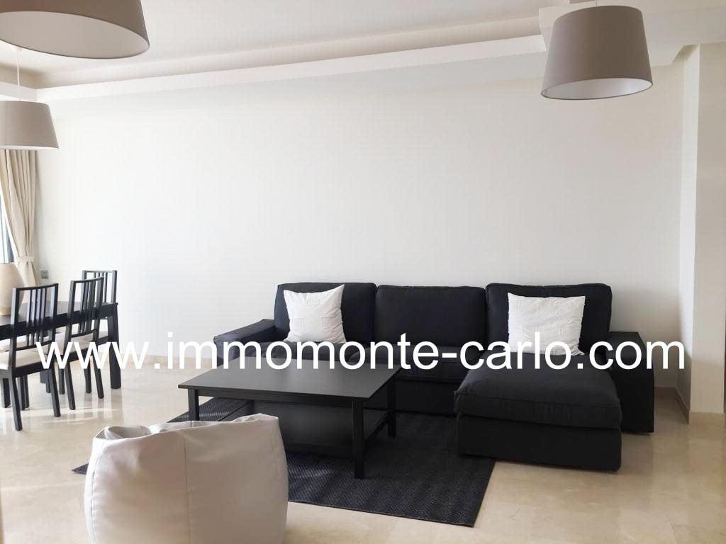 Bel appartement meublé avec terrasse Rabat Orangeraie de Souissi