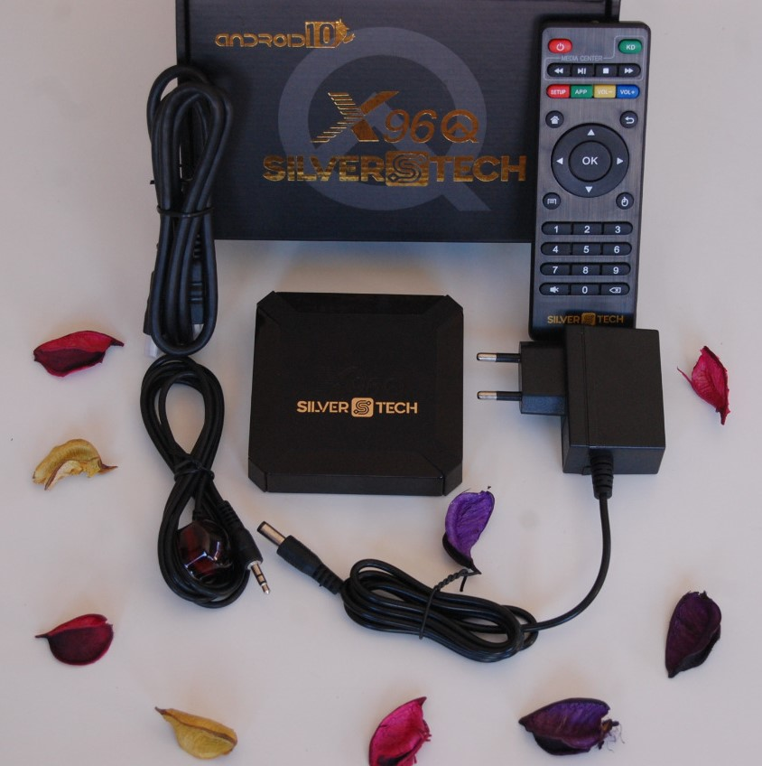 Boxe Android X96Q SilversTech & 12 Mois CARD IPTV
