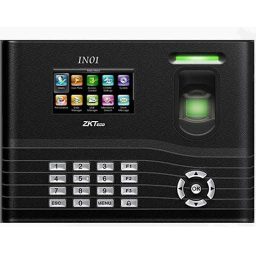 Pointeuse à empreinte et badges avec fonction de contrôle d'accès  IN01-A