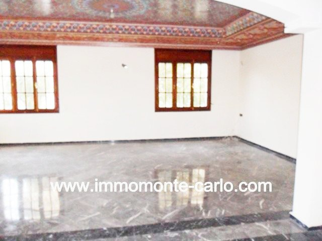 Coquette villa a louér a Hay Nahda Rabat