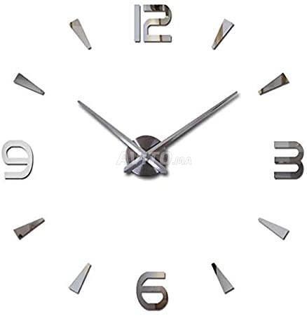 Horloge Murale Géante 3D DIY CLOCK