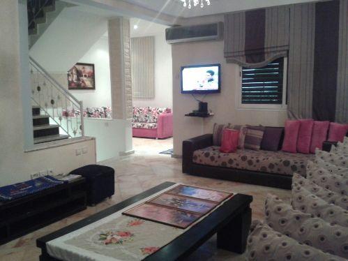 Location journalier d'un triplex meublé à Harhoura